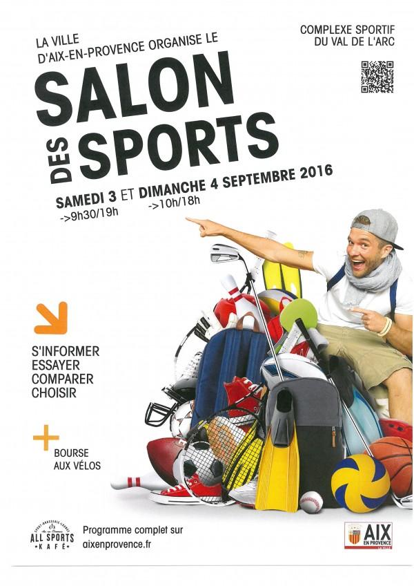 Affiche salon des sports 2016