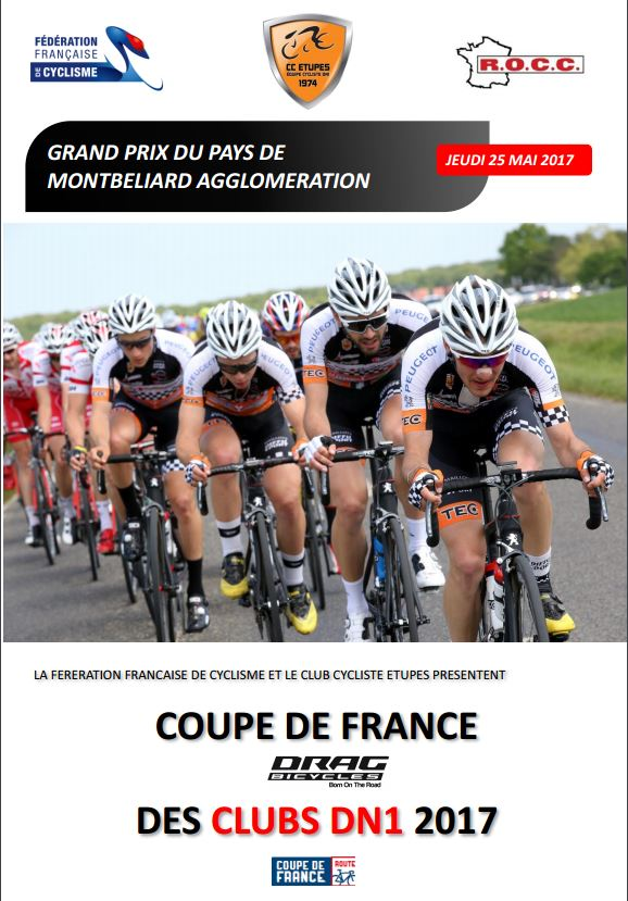 Affiche Grand Prix de Montbeliard